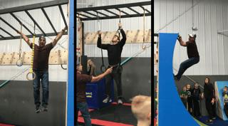 Adult ninja classes at Pinnacle