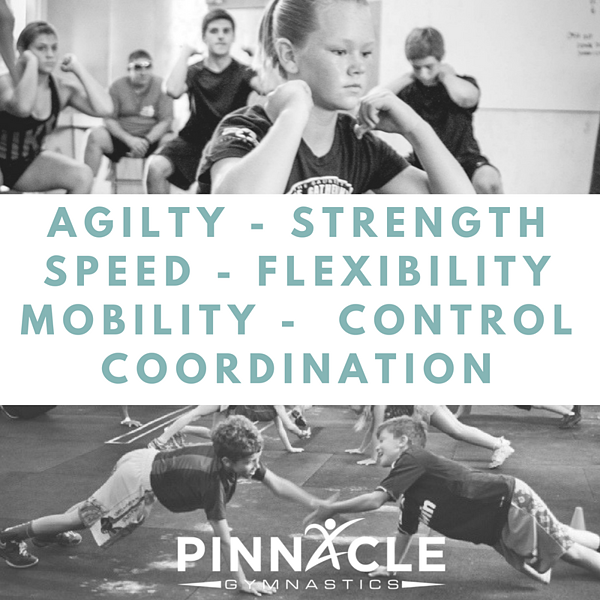 Agilty - Strength - Speed - Stabilization - flexibility - coordination