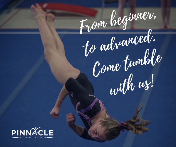 Come tumble with us!