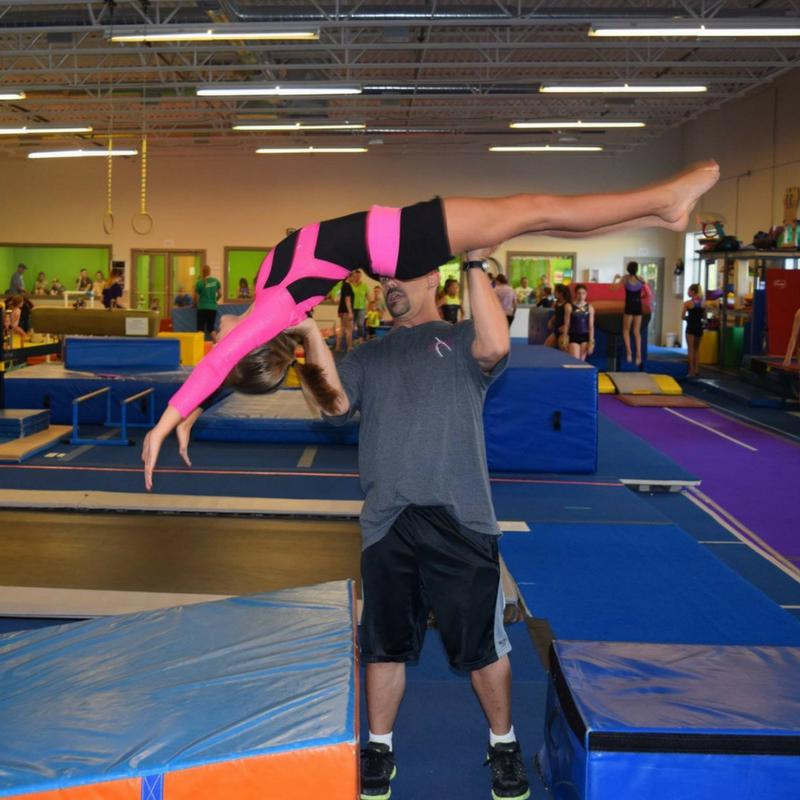 back handspring clinic at pinnacle gymnastics